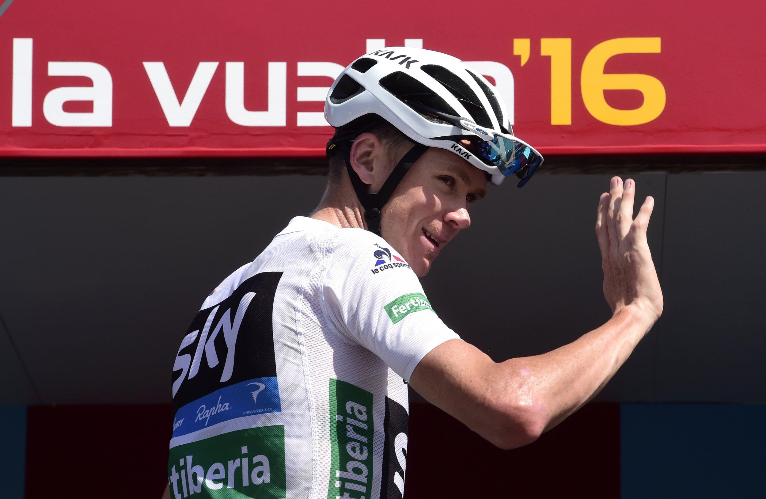 Tour de France winner Chris Froome.