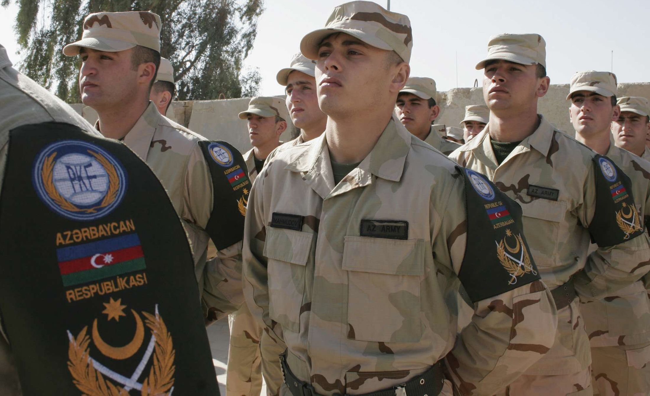 Azeri soldiers