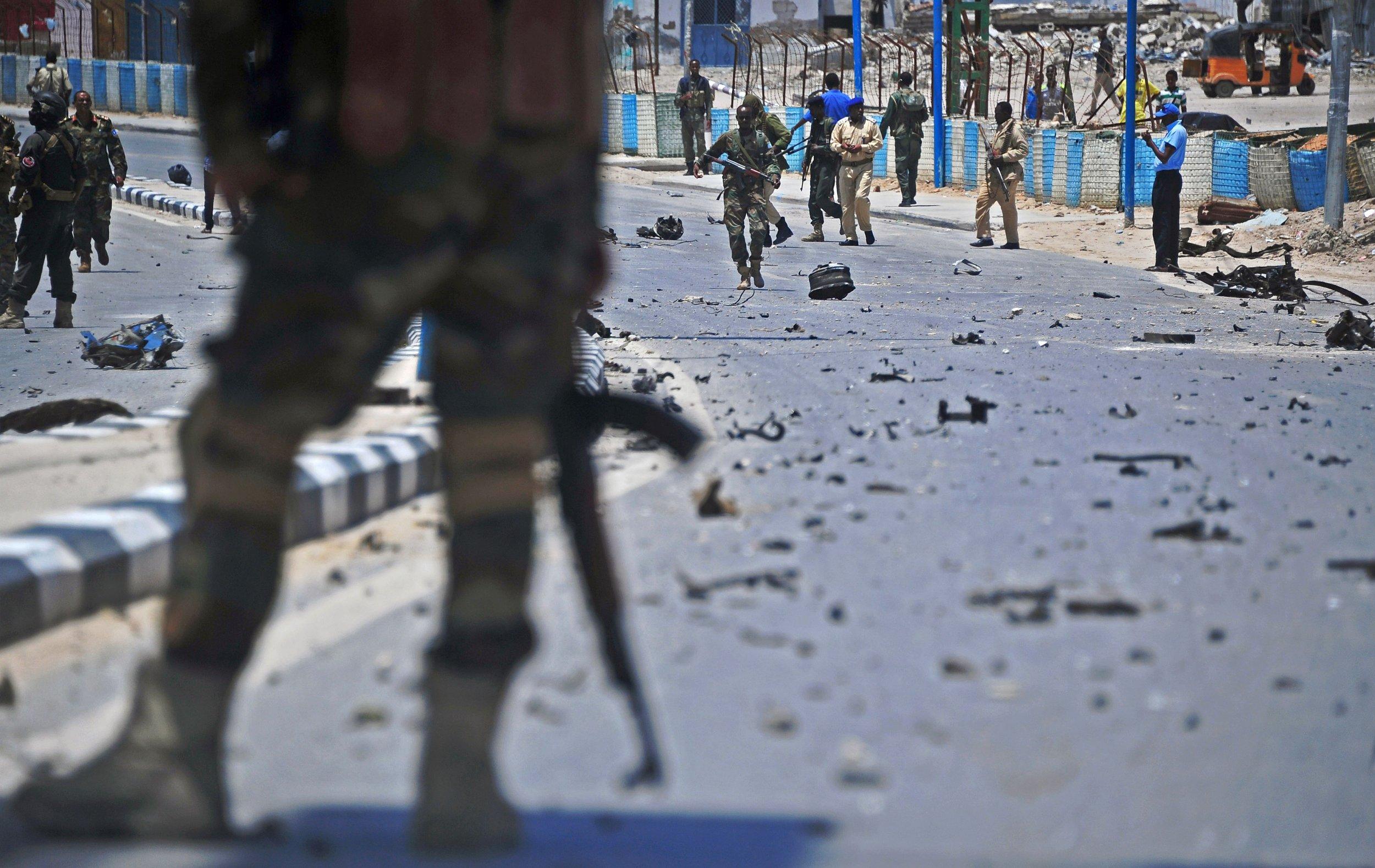 Al-Shabab attack aftermath