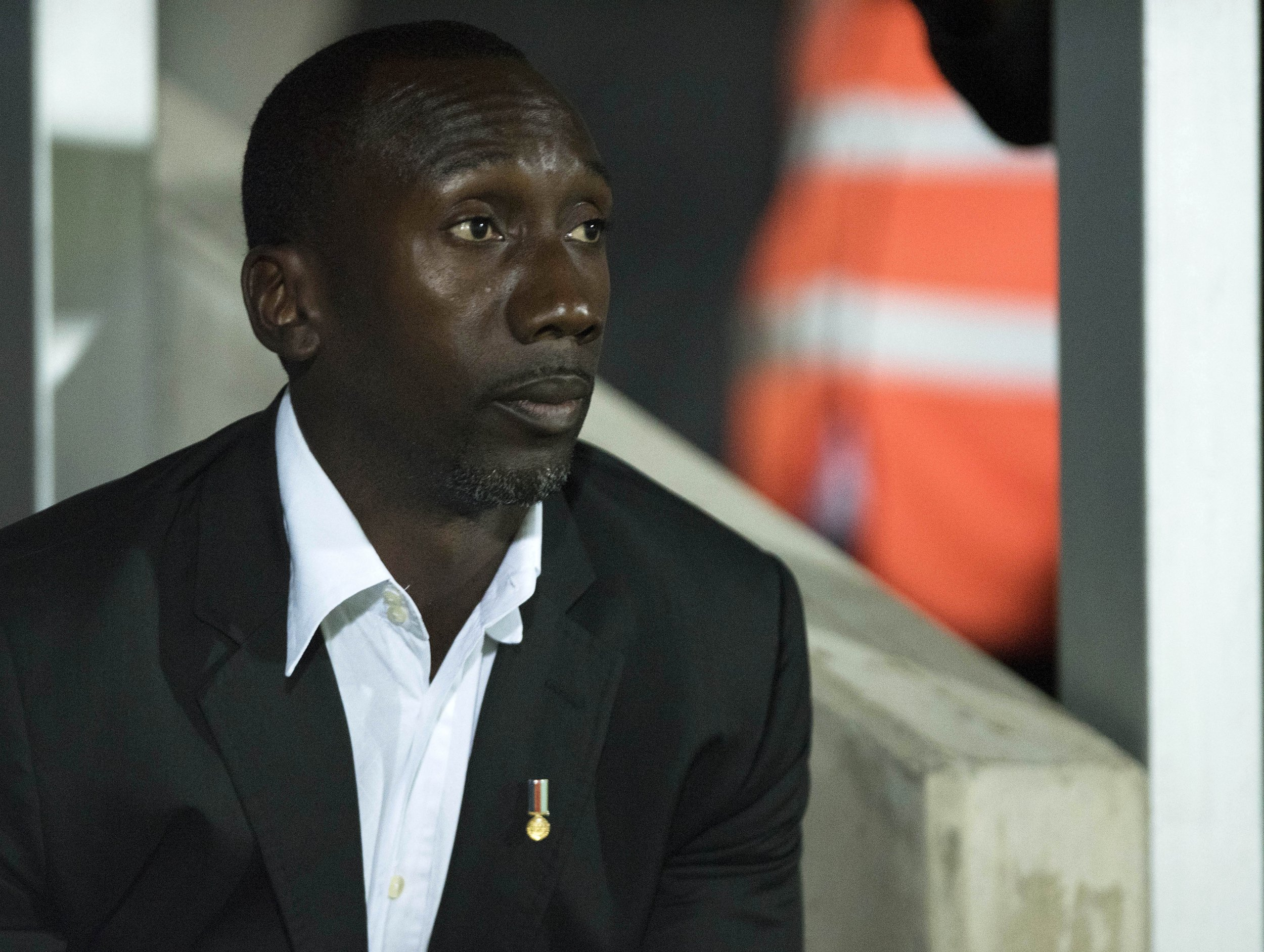 Queens Park Rangers manager Jimmy Floyd Hasselbaink.