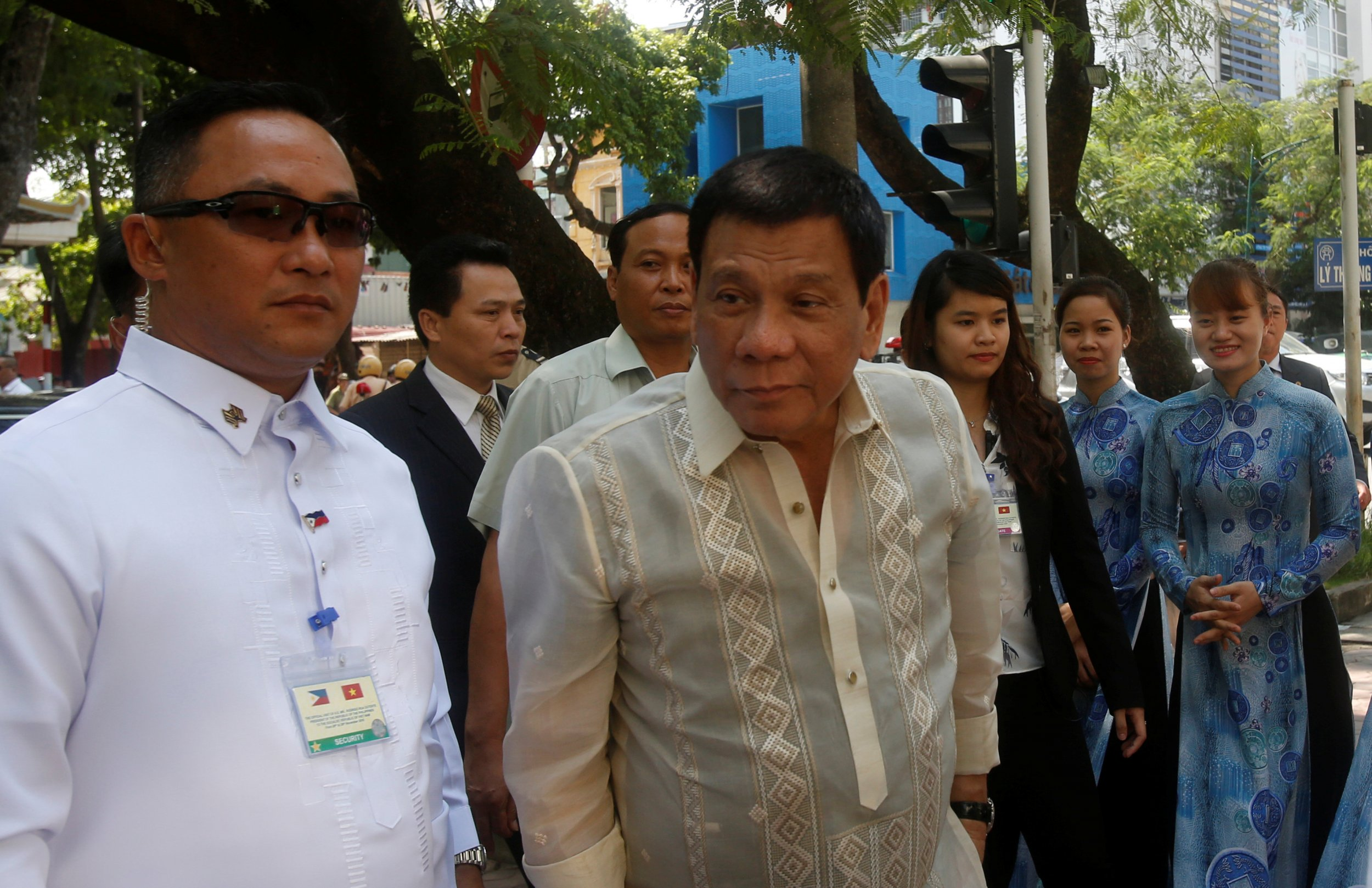 Rodrigo Duterte in Vietnam