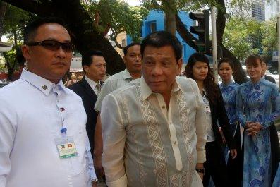 Rodrigo Duterte in Vietnam