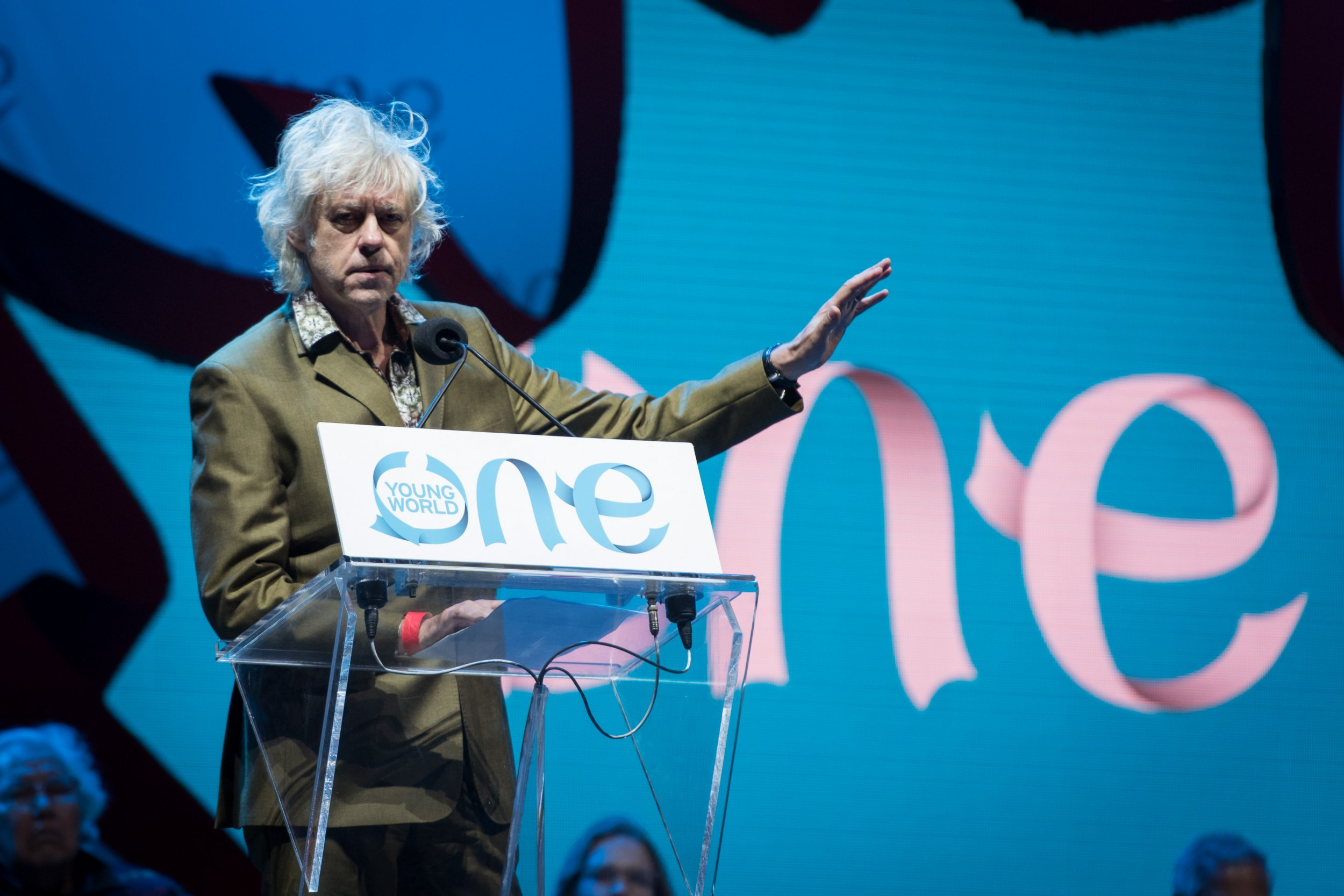 Bob Geldof Speaks at One Young World 2016[1]