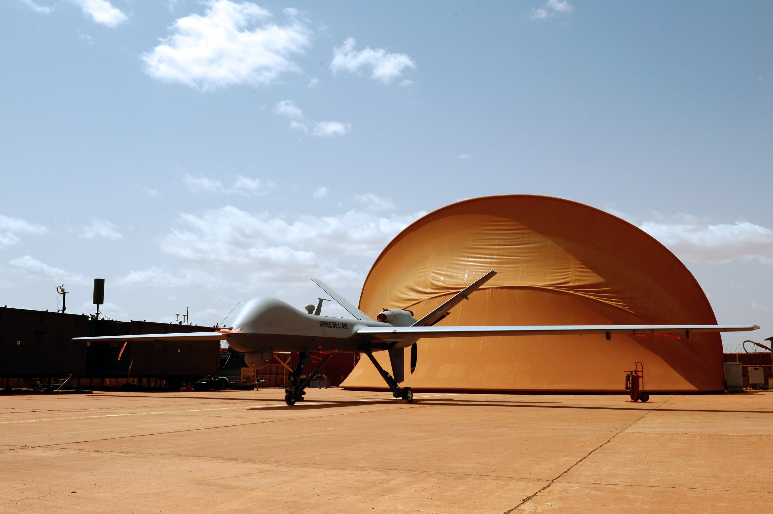 French drone base Niamey