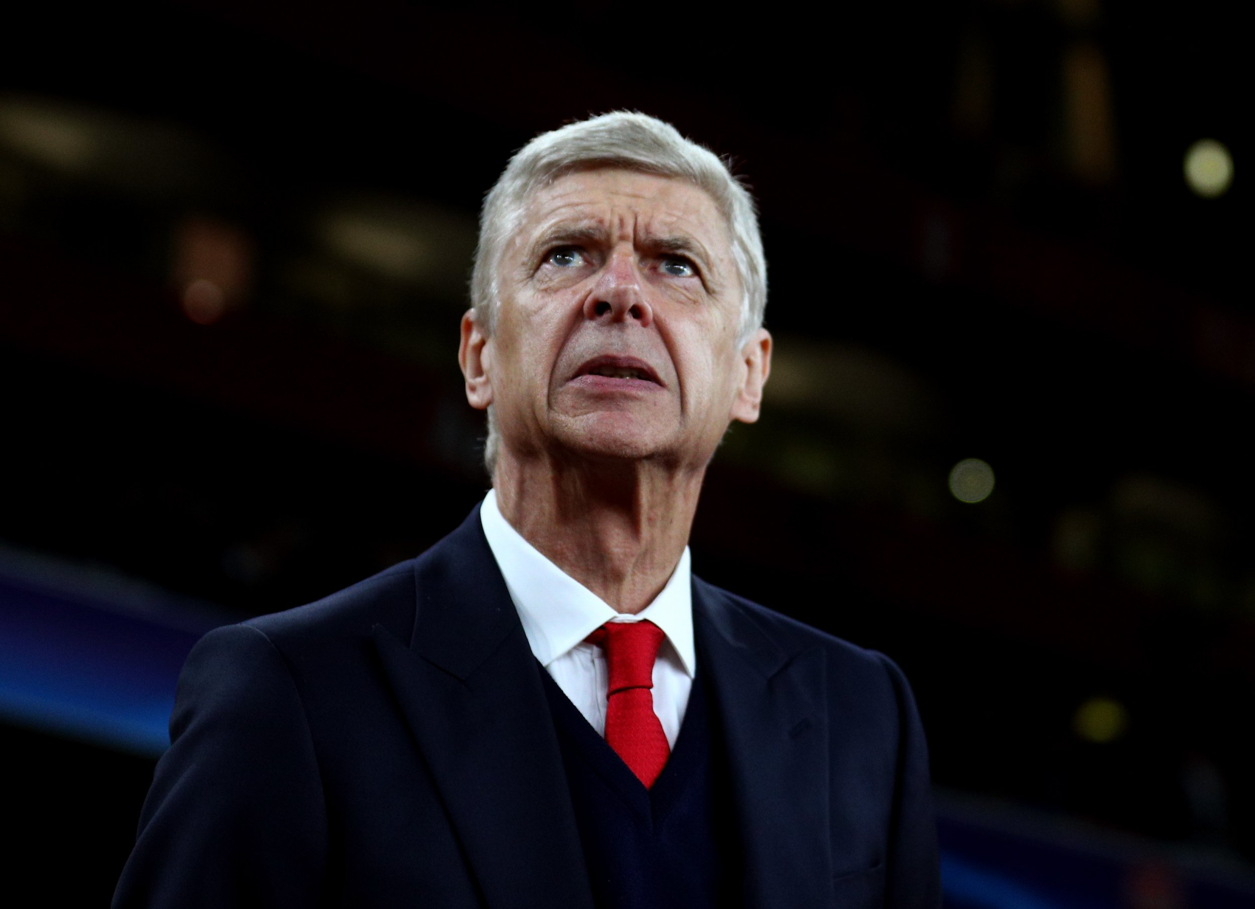 Arsenal manager Arsene Wenger.