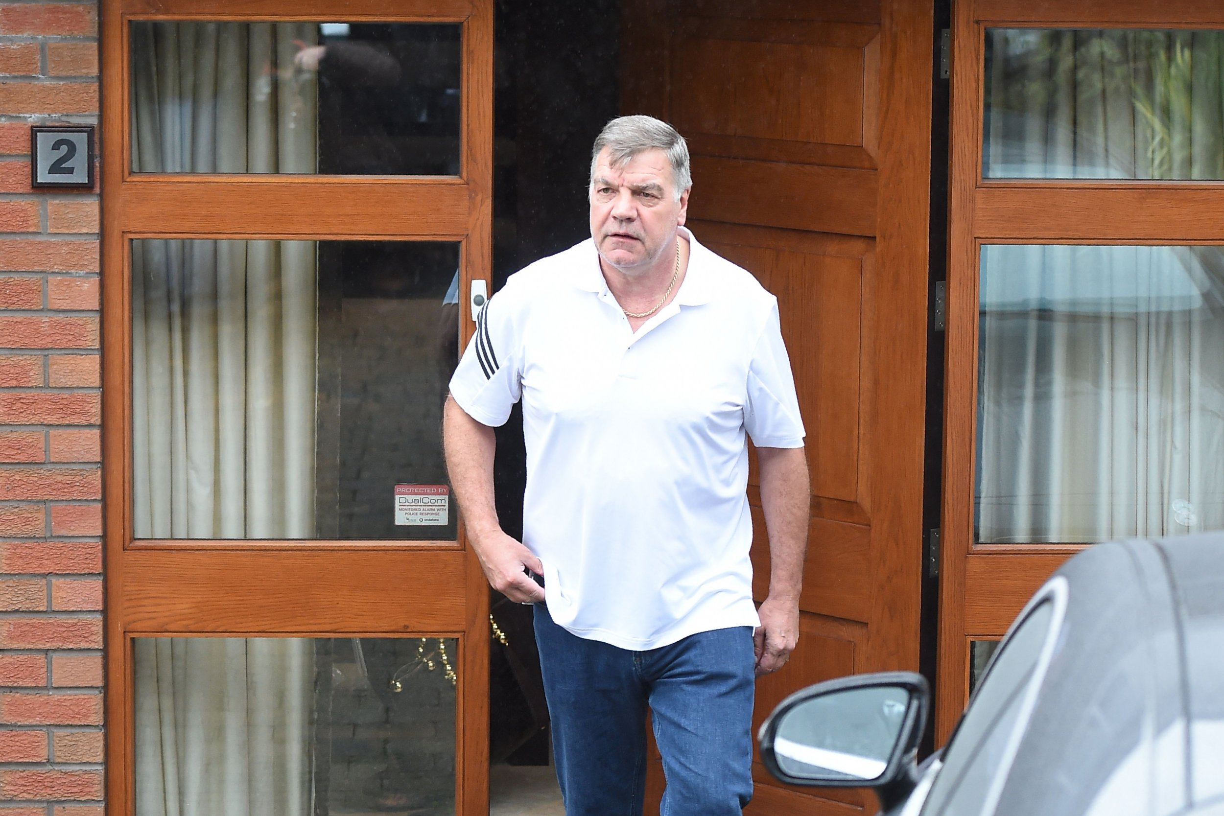 Ex England manager Sam Allardyce.