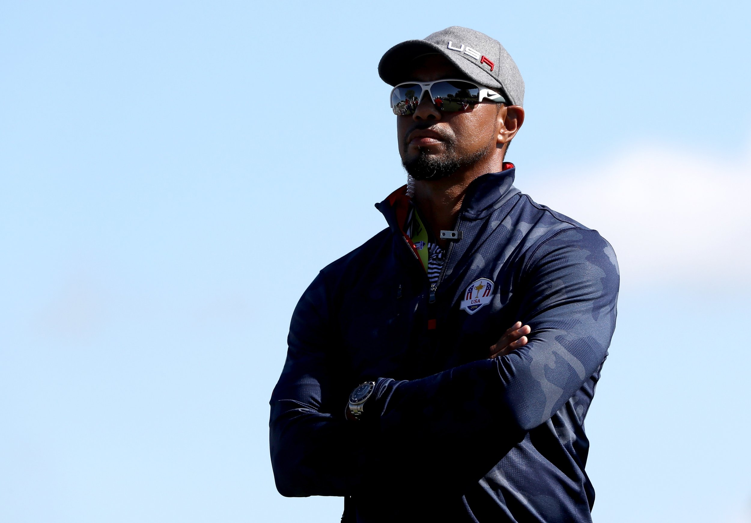 Ryder Cup vice-captain Tiger Woods