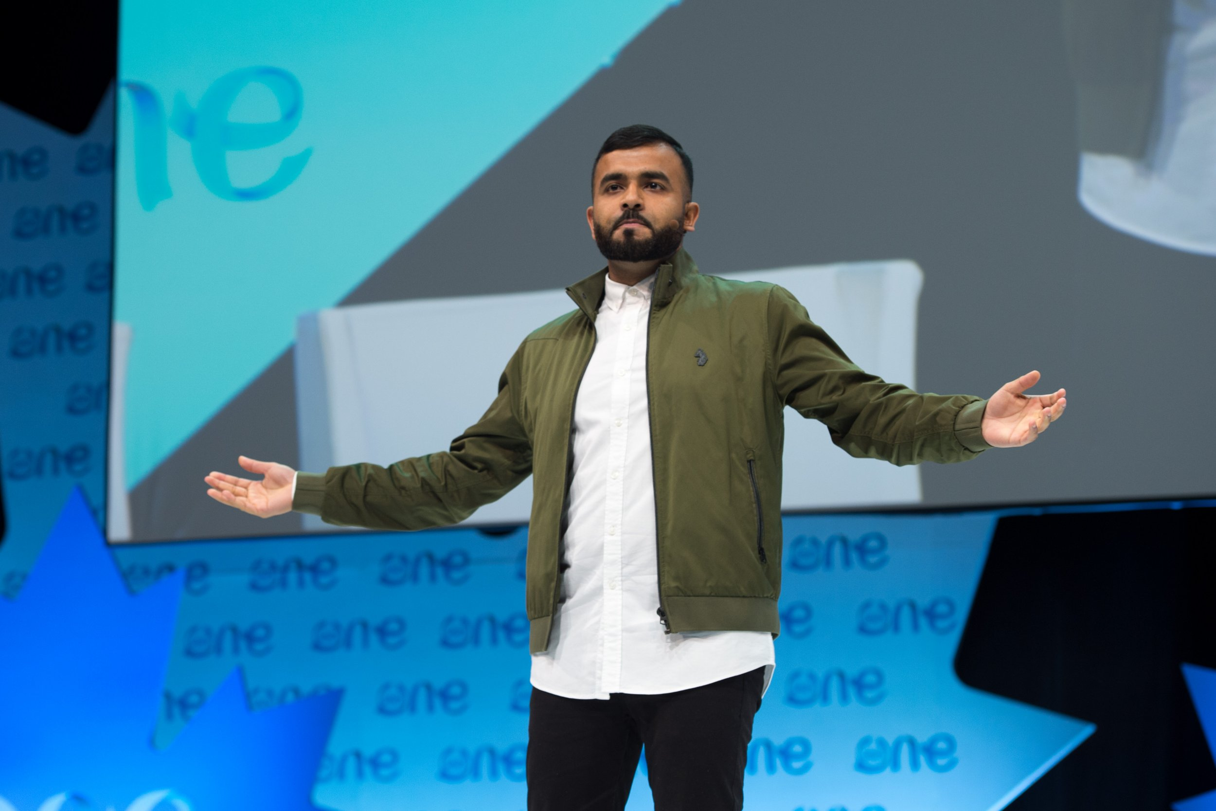 One Young World: Watch Hussain Manawer's Moving Performance on Mental Health