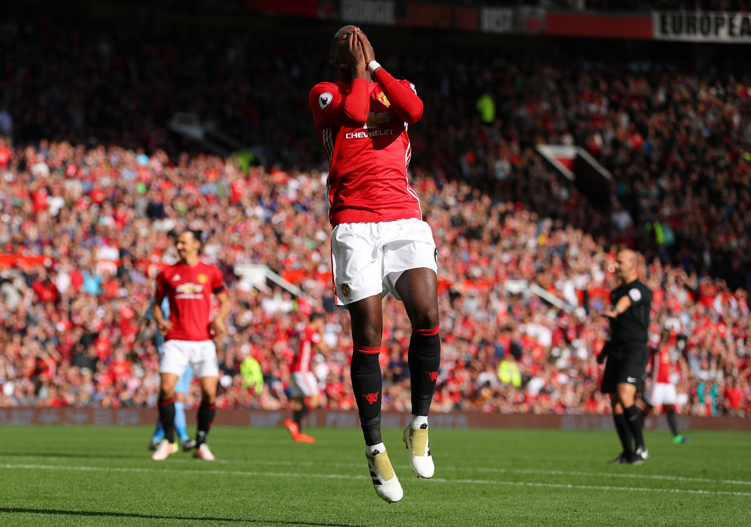Manchester United midfielder Paul Pogba.