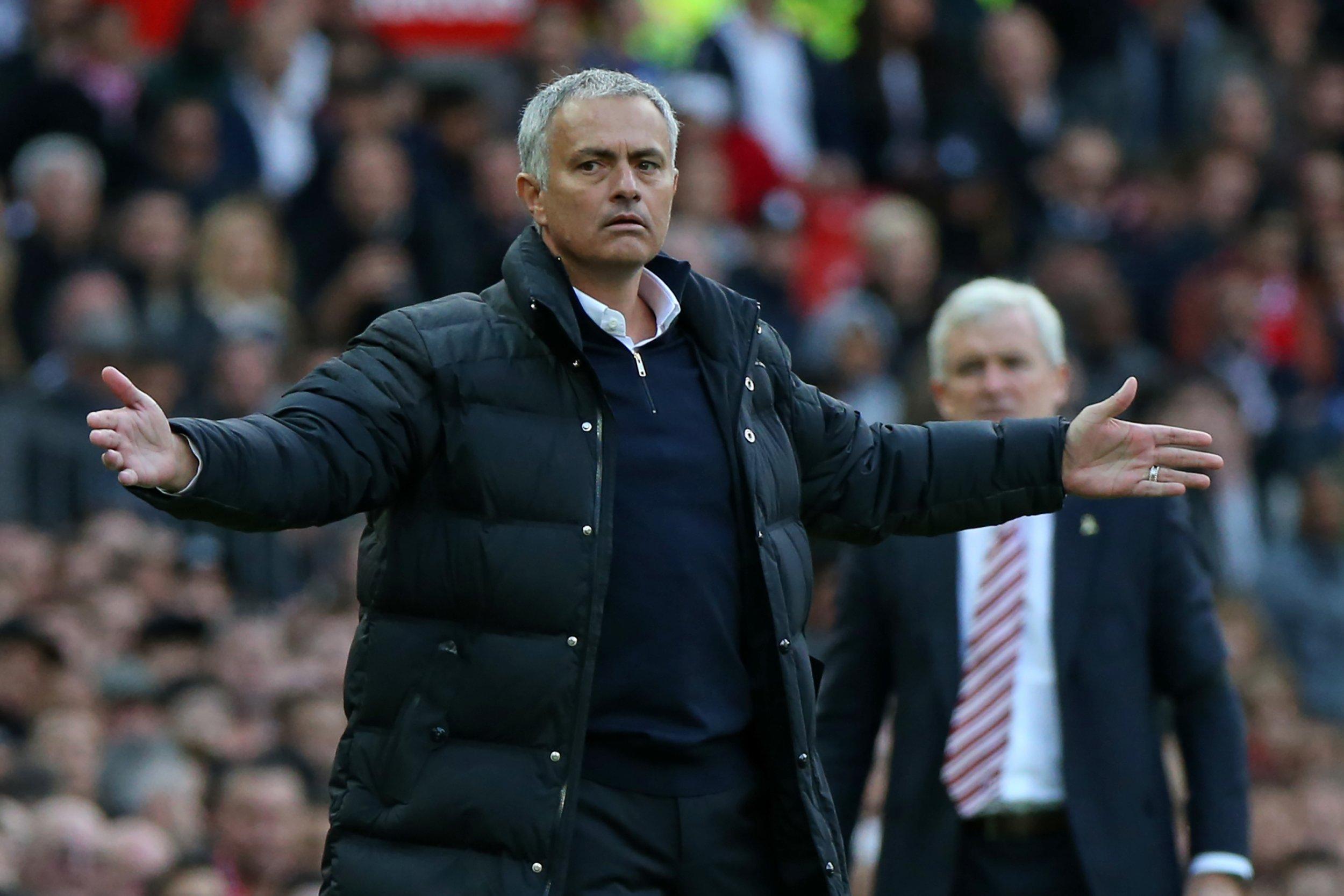 Manchester United manager Jose Mourinho.