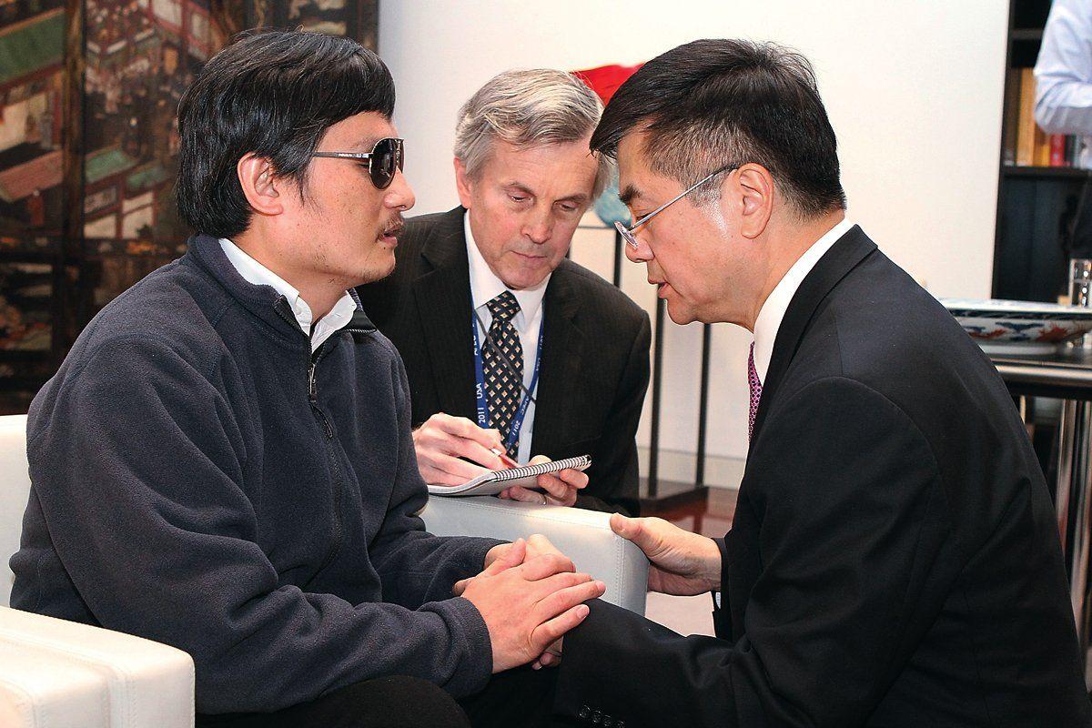 Chen and Gary Locke