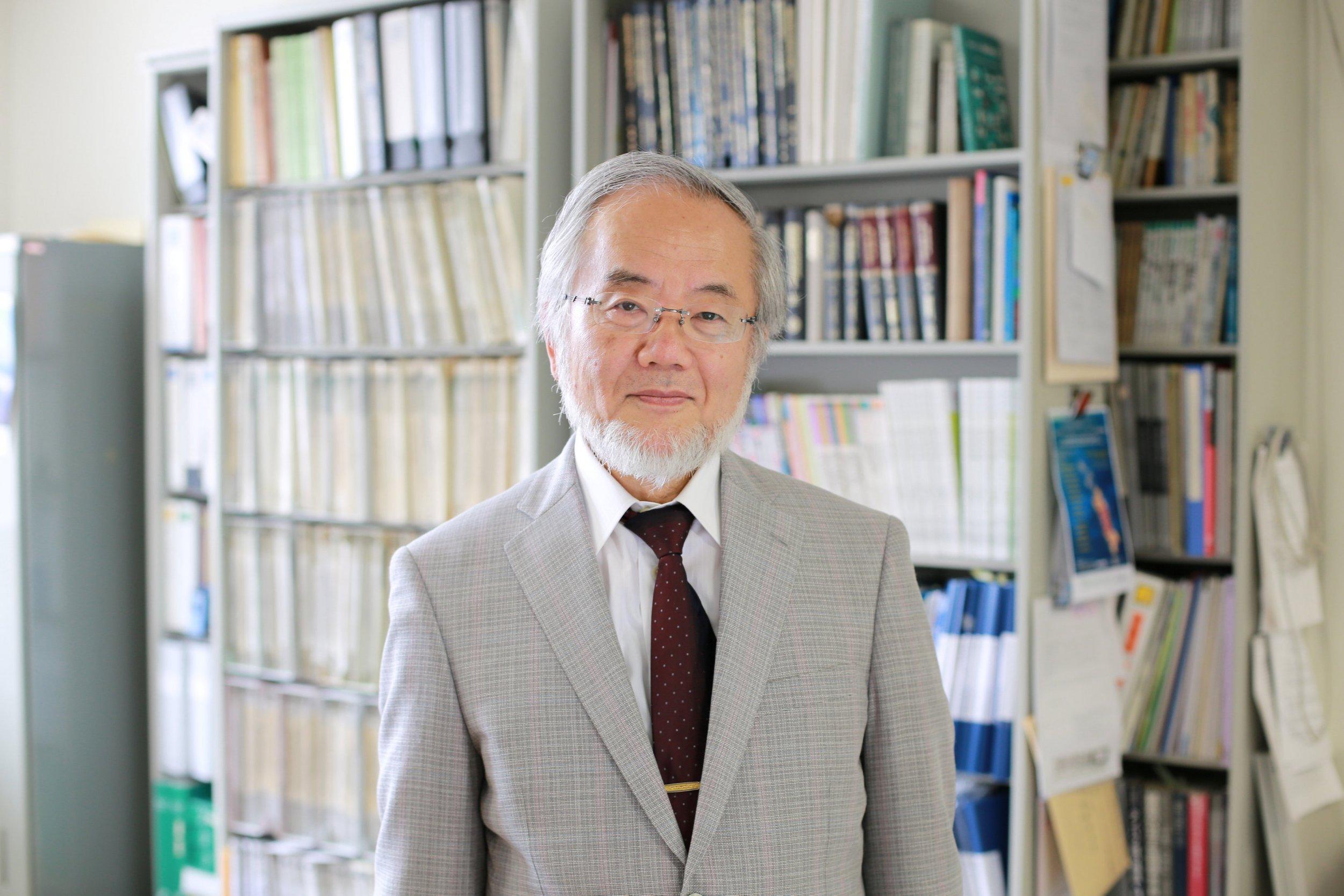 Yoshinori Ohsumi, Nobel medicine prize winner