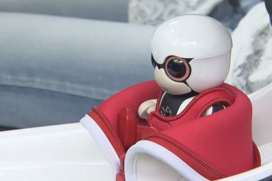 robot baby kirobo mini toyota
