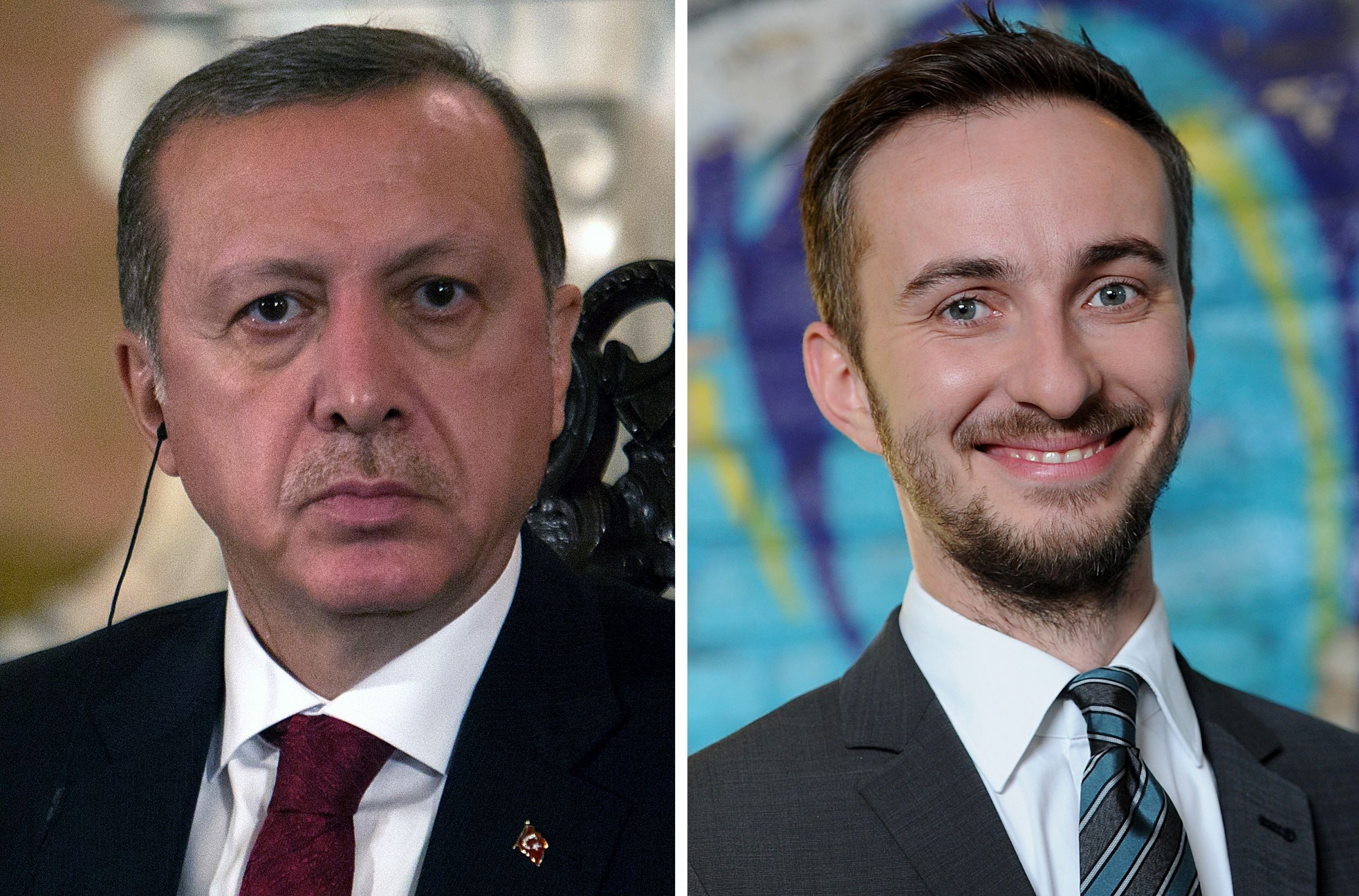 Turkish President Erdogan and Comedian Boehmermann