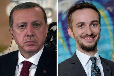 Turkish President Erdogan and Comedian Boehmermann