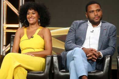 Black-ish stars Anthony Anderson and Tracee Ellis Ross