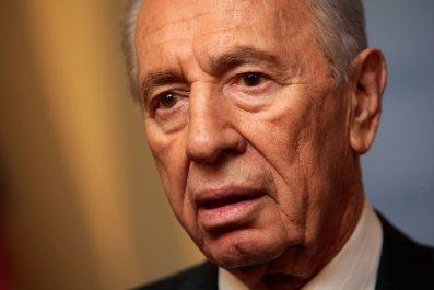 Former Israeli President Shimon Peres