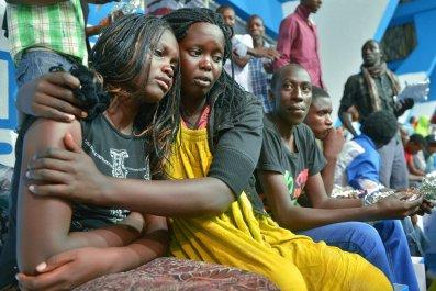 Survivors of Al-Shabab attack in Kenya