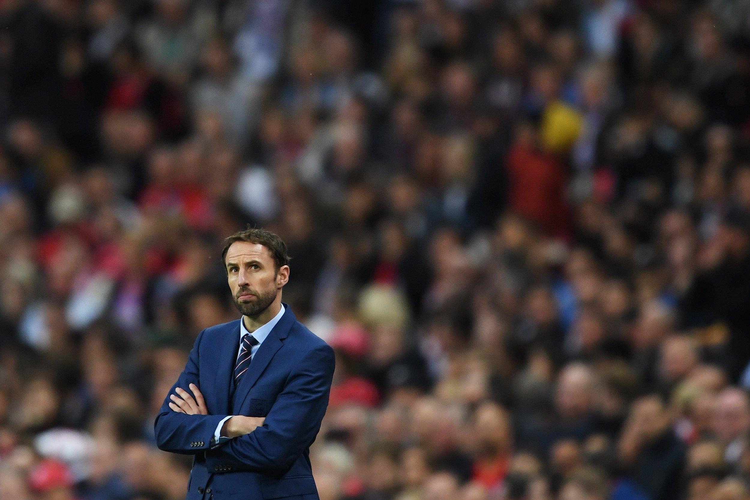 England interim manager Gareth Southgate.