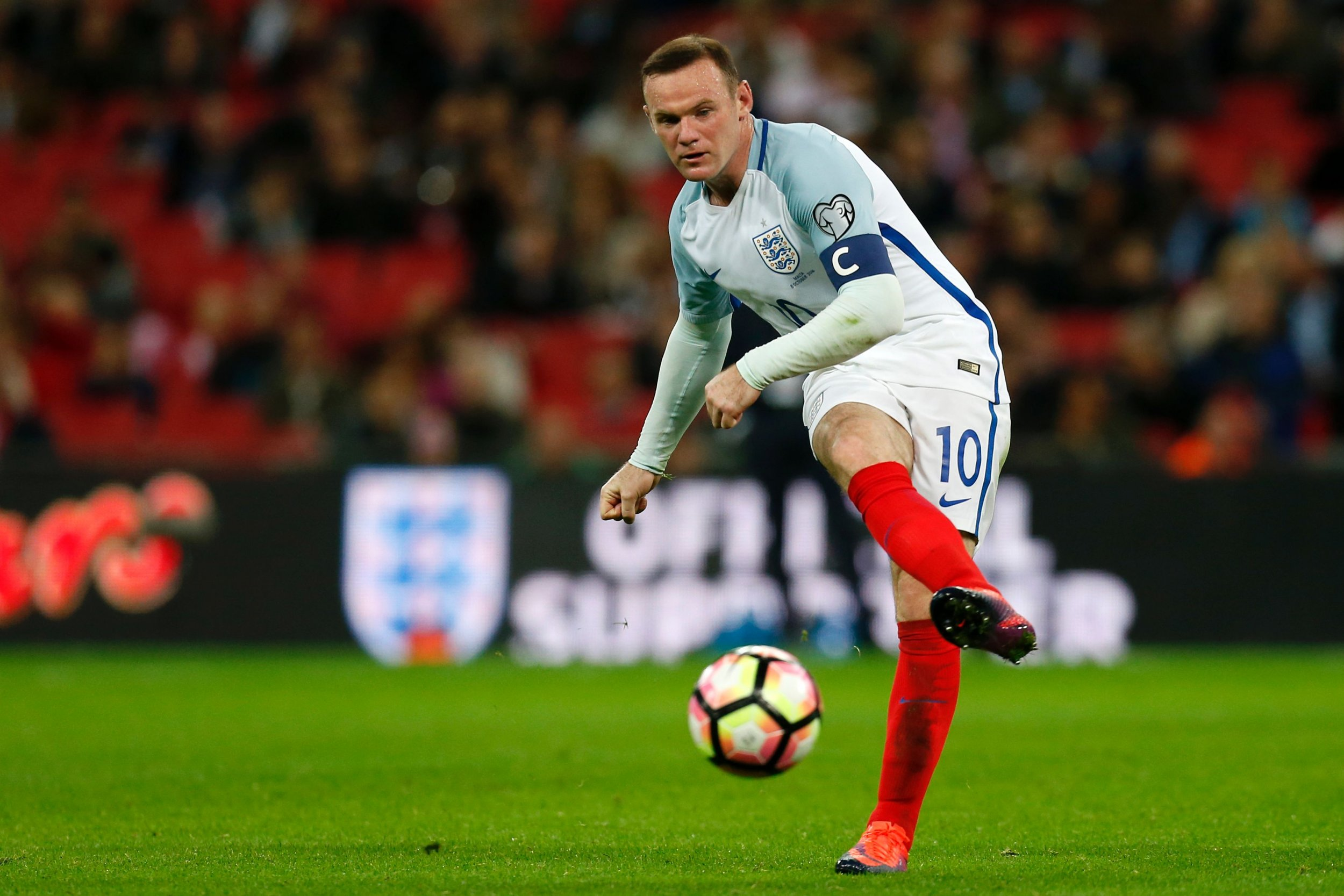 England captain Wayne Rooney.