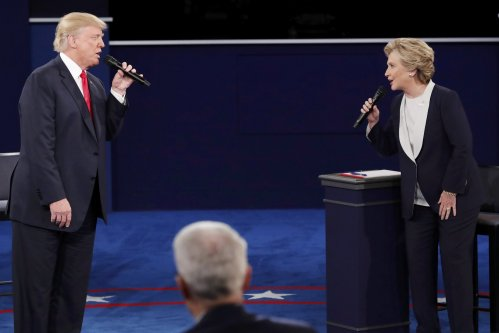 Trump vs Clinton in Second U S  Presidential Debate: Full