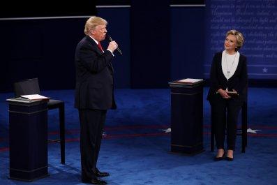 Trump v Clinton 2