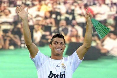 Real Madrid star Cristiano Ronaldo.