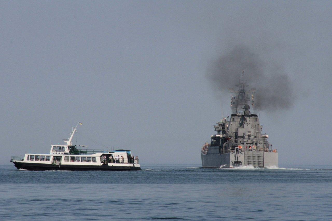 Russian ship Kunikov