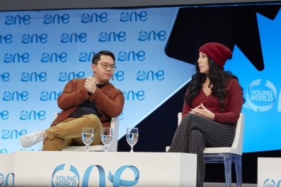 James Chau and Cher