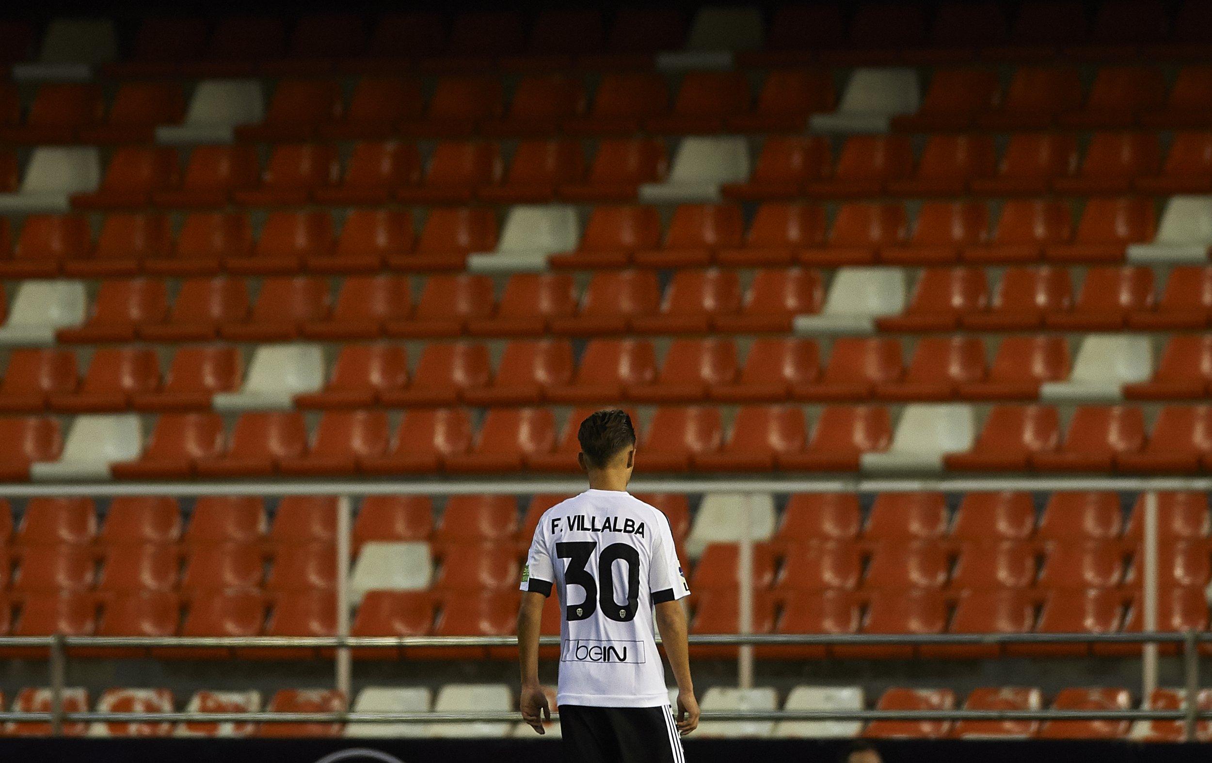 Valencia teenager Fran Villalba.