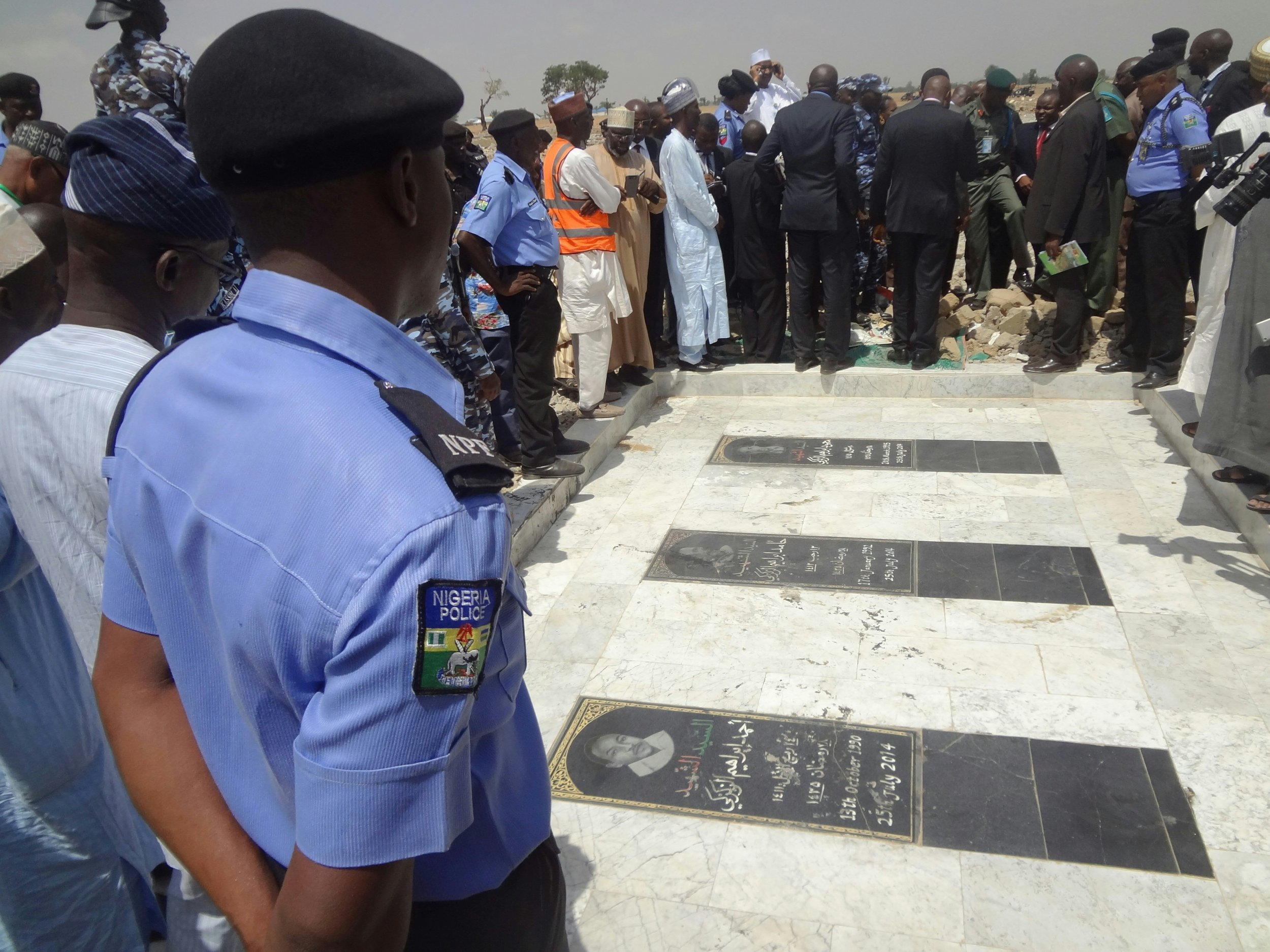 Nigeria Shiites cemetery