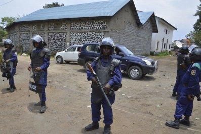 Congo police