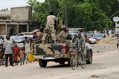 Maiduguri military patrol