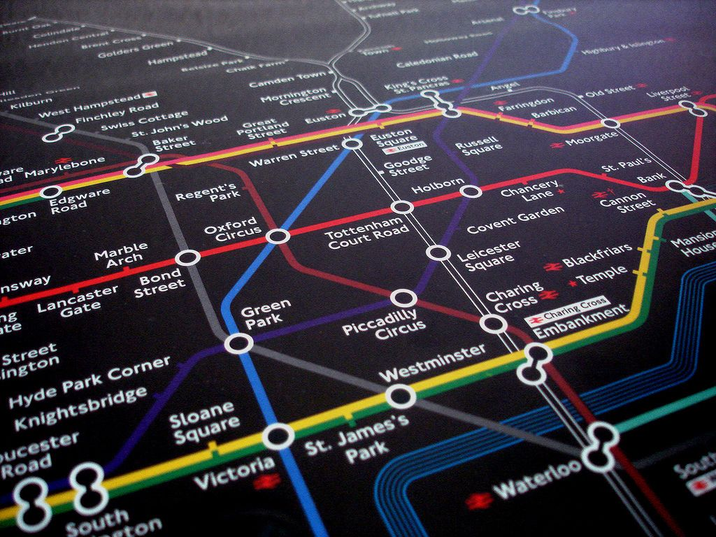 artificial intelligence london underground google AI