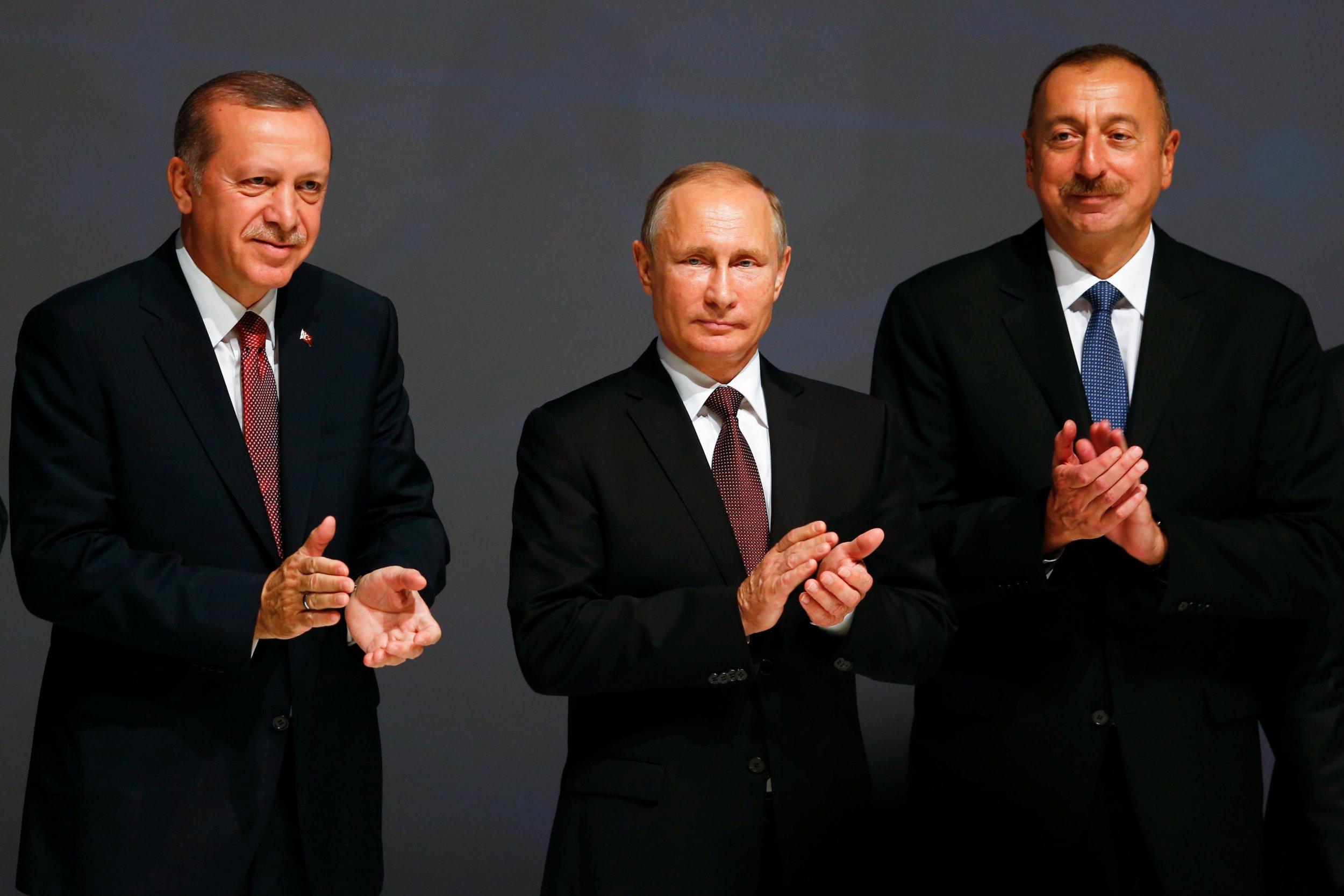 Putin erdoğan Aliyev ile ilgili görsel sonucu