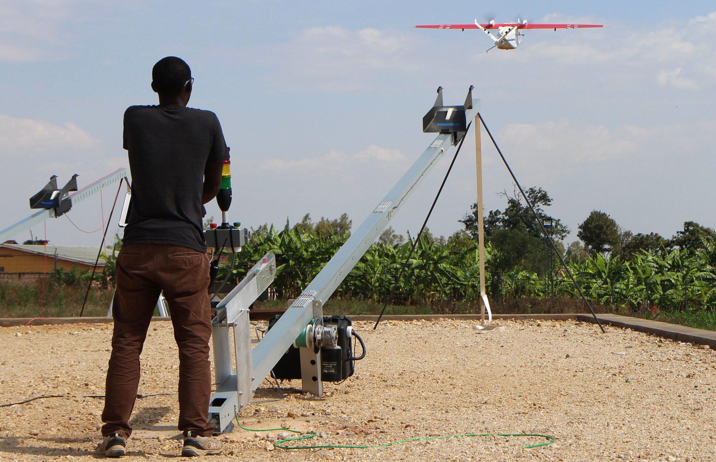 Rwanda drone