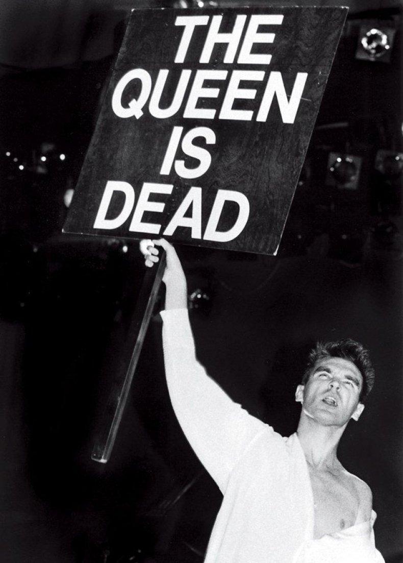 Morrissey The Queen Is Dead