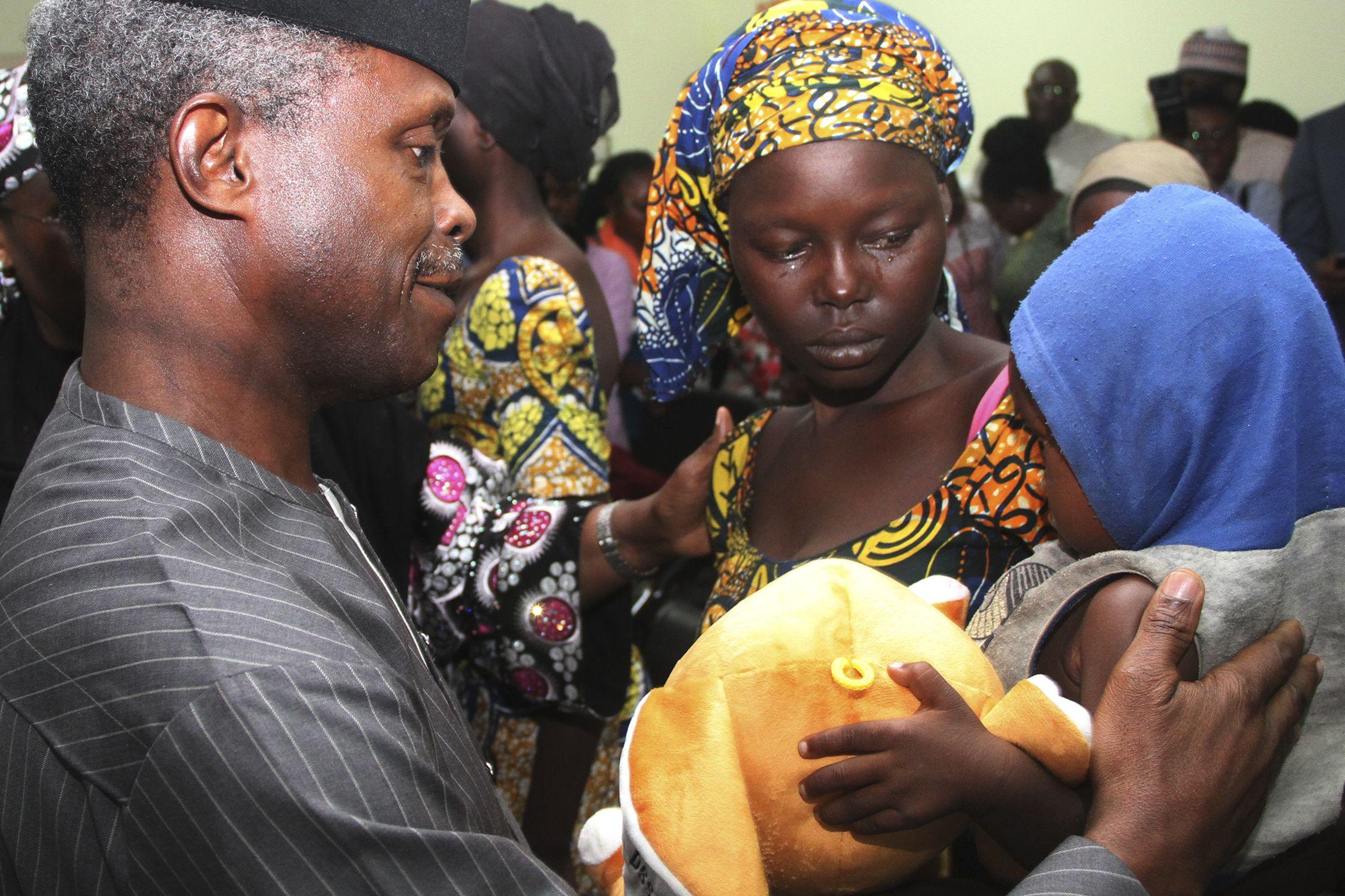 Chibok girl released