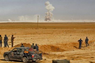 Iraqi operation on Mosul