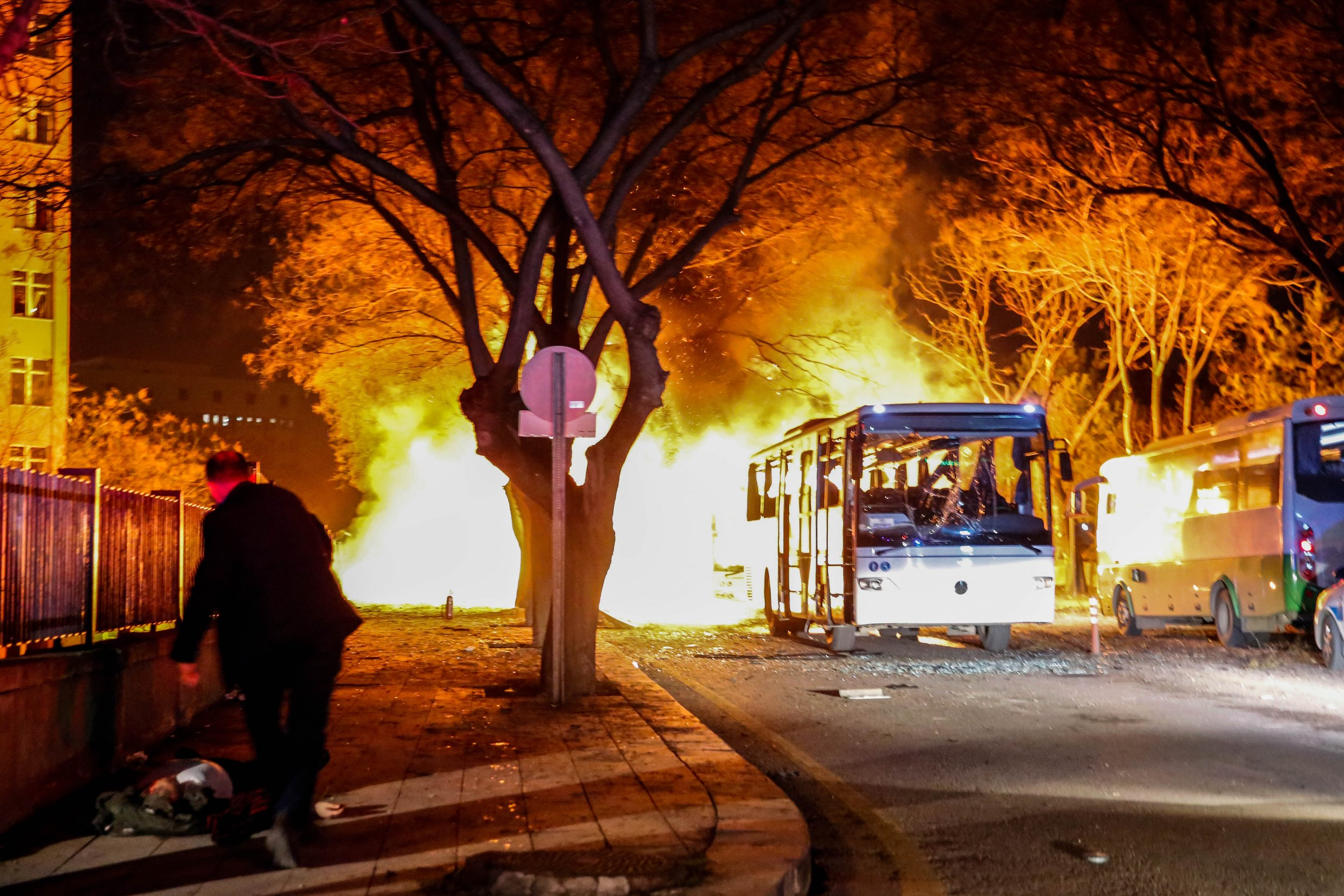 Attack in Turkey's Ankara