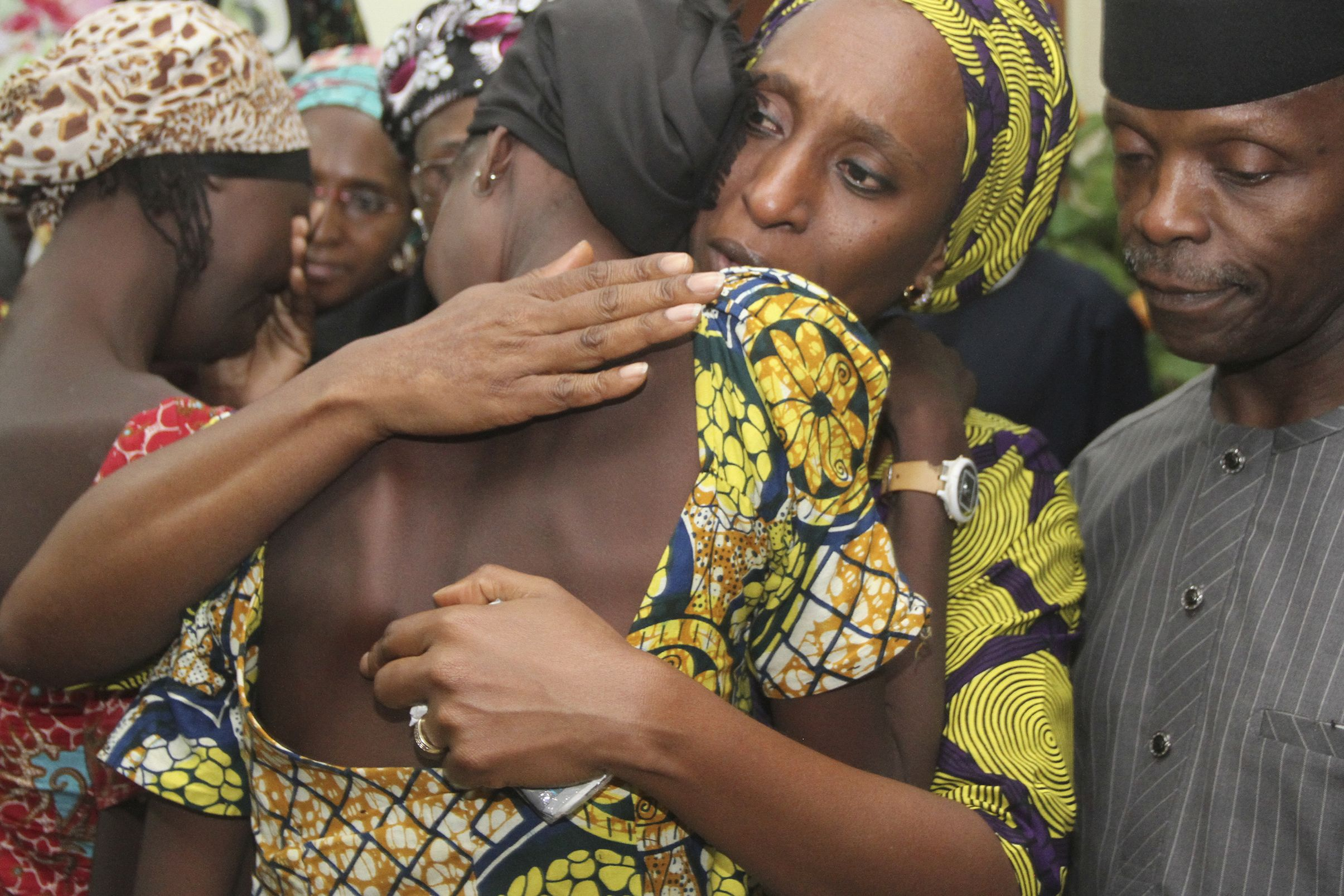 Chibok girl released