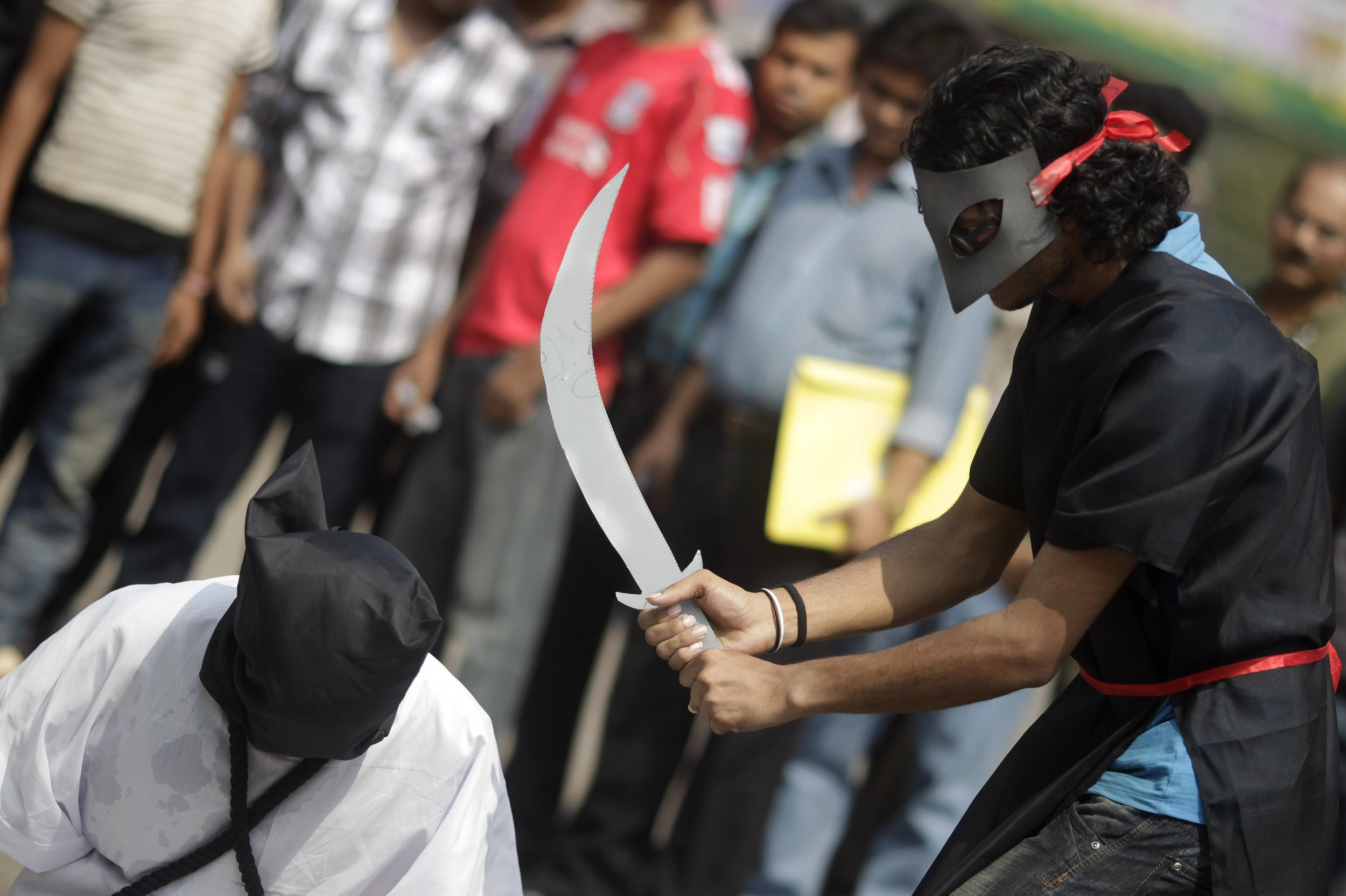 Bangladesh beheading protest