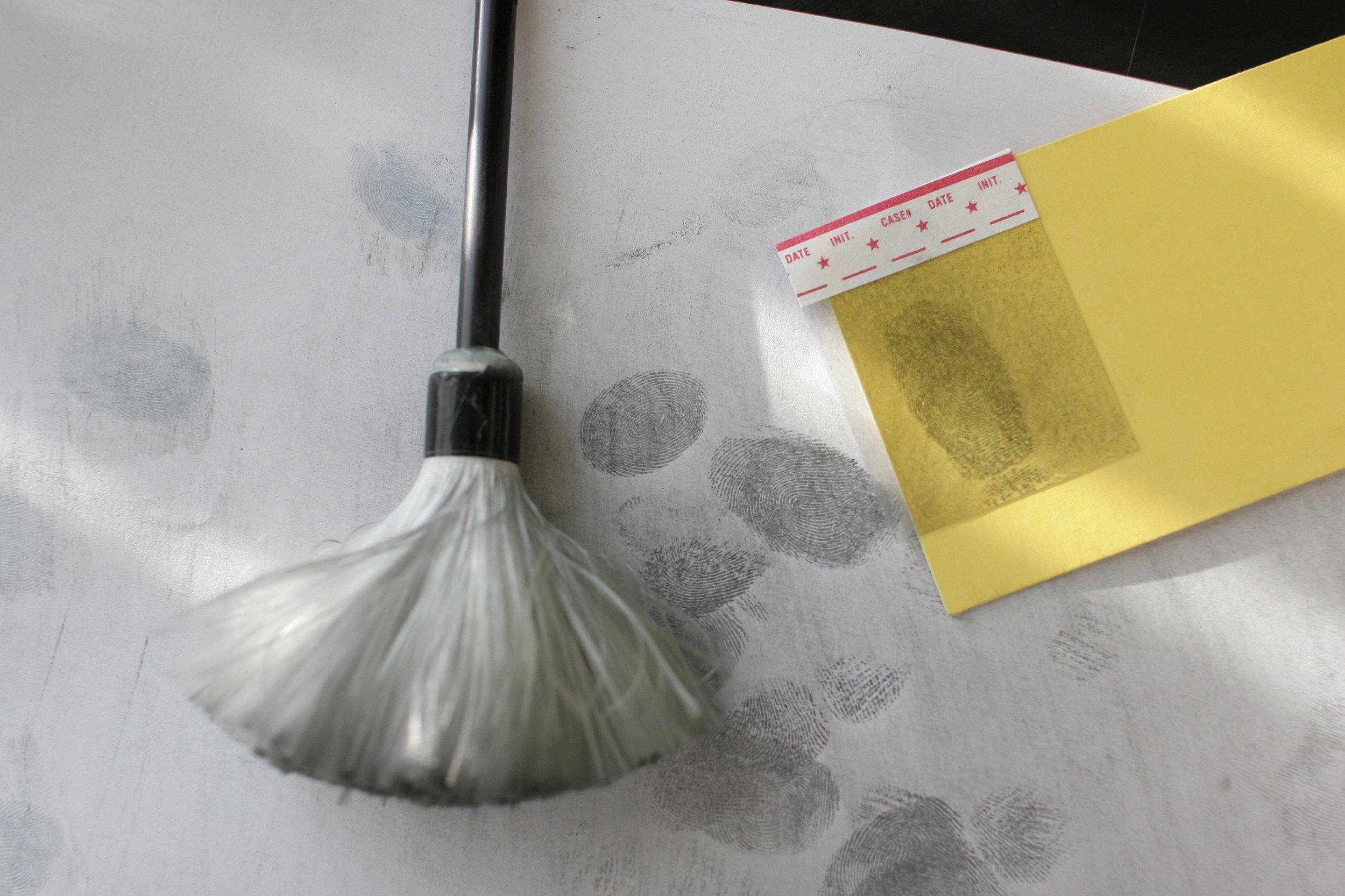Fingerprinting device