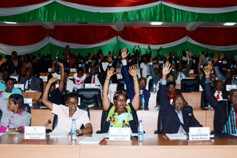 Burundi ICC vote