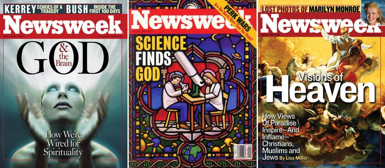 Heaven Newsweek Covers
