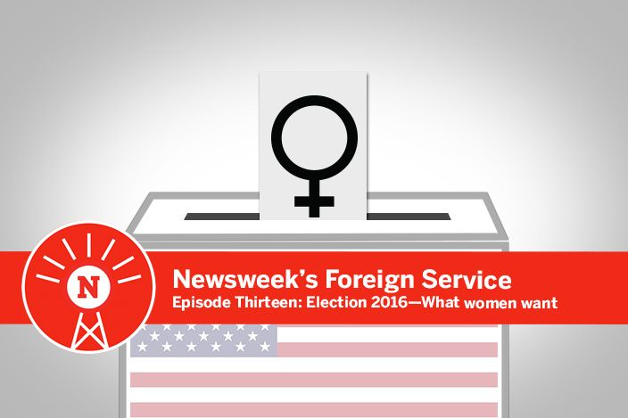What do women want from the presidential election?