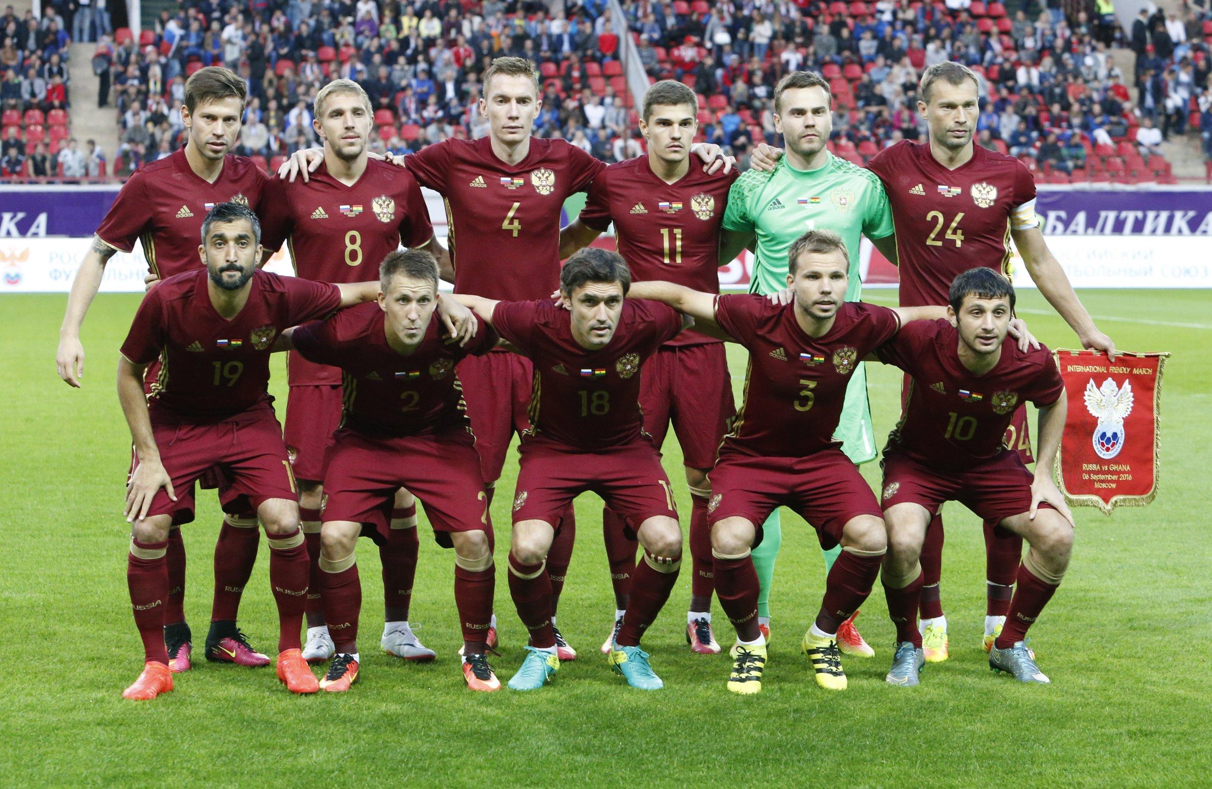 Výsledek obrázku pro russian national team
