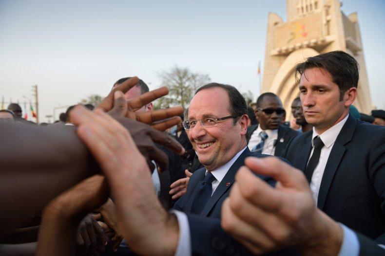 Francois Hollande in Mali