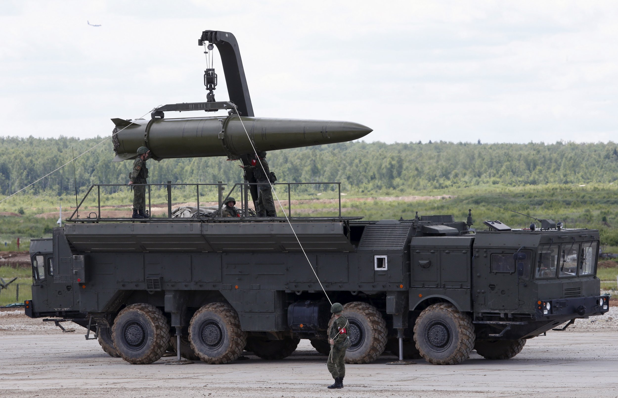 Iskander tactical missile