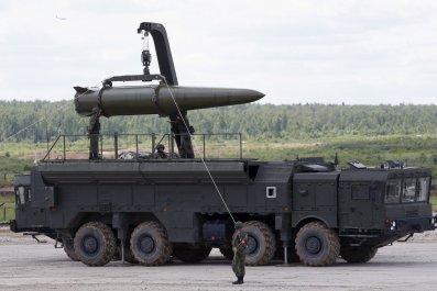 Iskander tactical missile